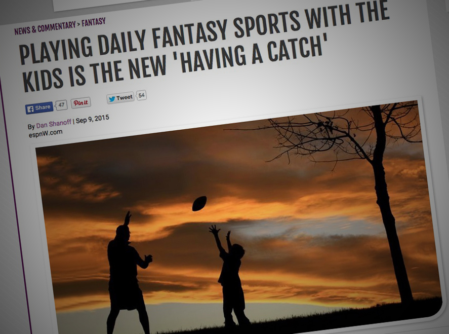 Underage Daily Fantasy Sports