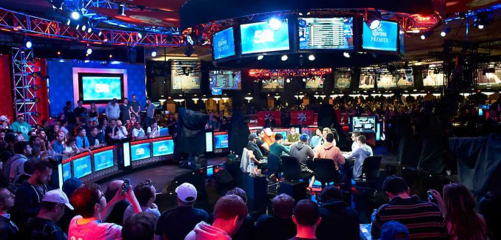 A look at the 2019 WSOP final table in Las Vegas (photo courtesy WSOP)