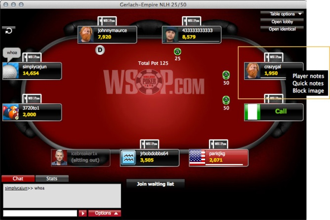 WSOP software-player-notes