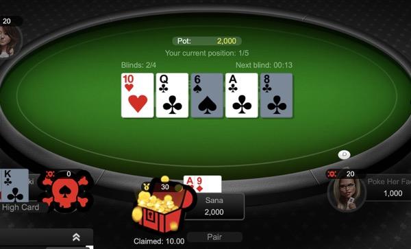 sweepstakes poker