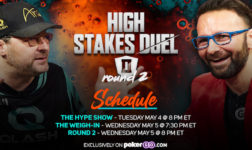 Phil Hellmuth and Daniel Negreanu are back at the PokerGO Studio on Wednesday for a special Cinco de Mayo edition of High Stakes Duel.